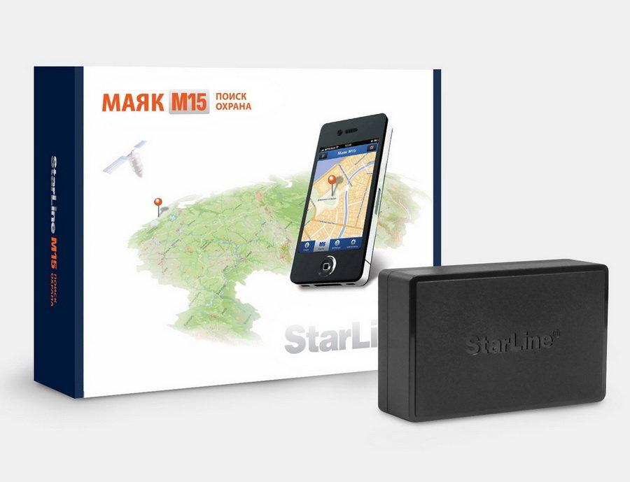 Упаковка и маяк Старлайн М15