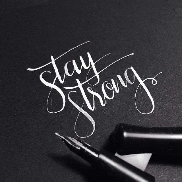 Как научиться писать красивым шрифтом?
