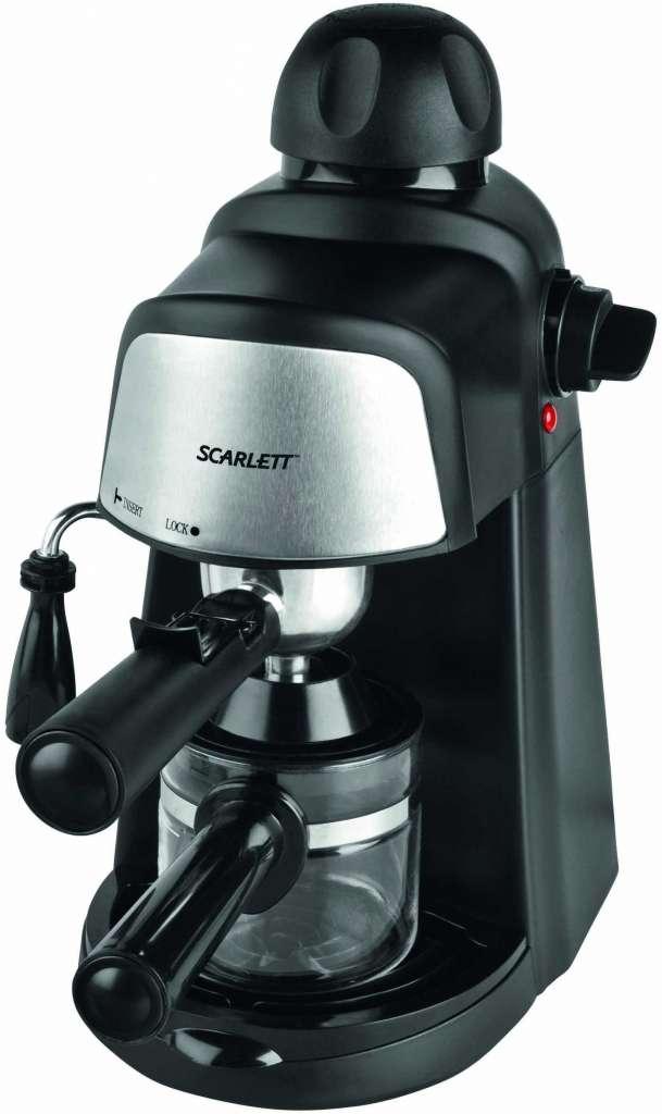 Кофеварка Scarlett SC-037: описание, характеристики, отзывы покупателей