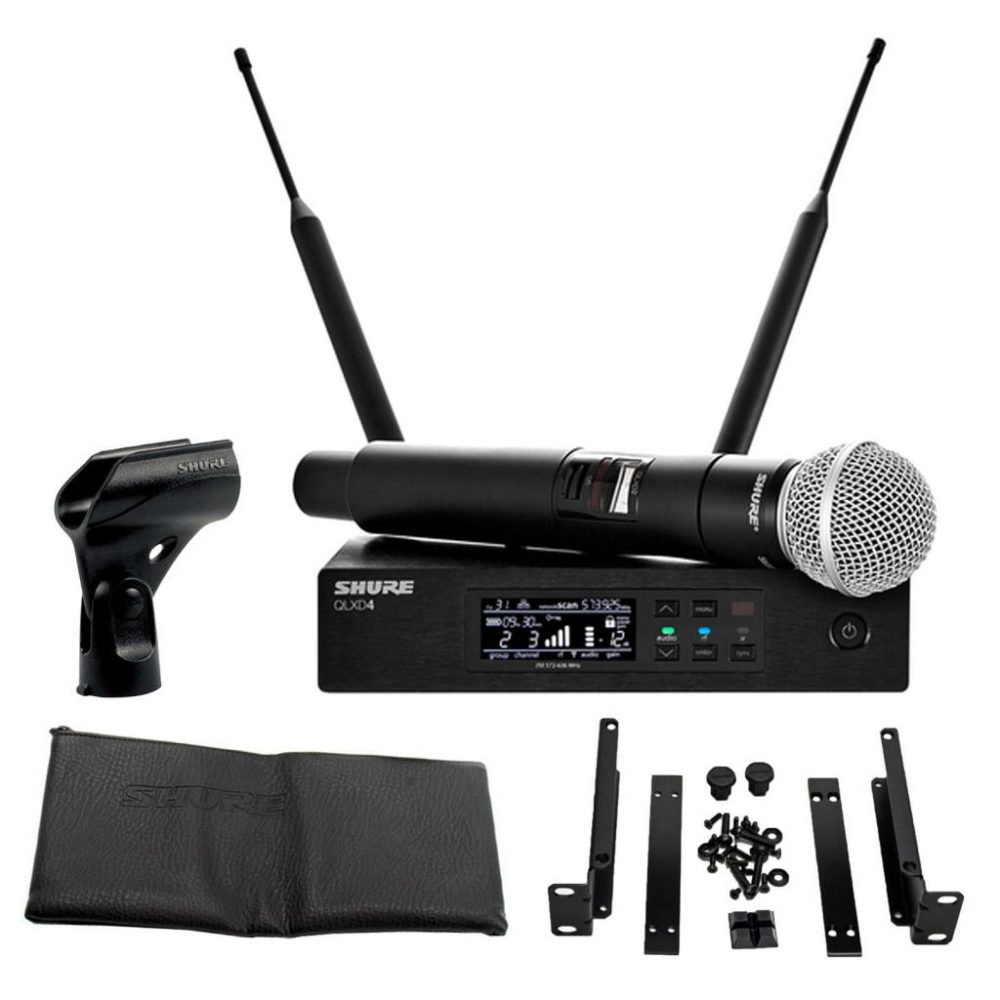Микрофон SHURE SM58: технические характеристики