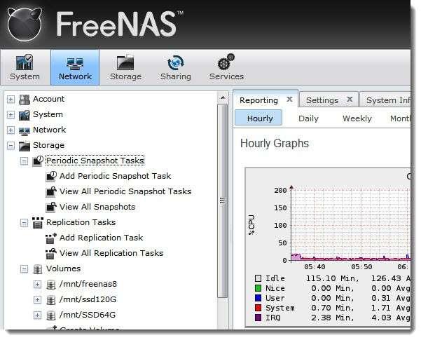 Установка и настройка NAS4Free