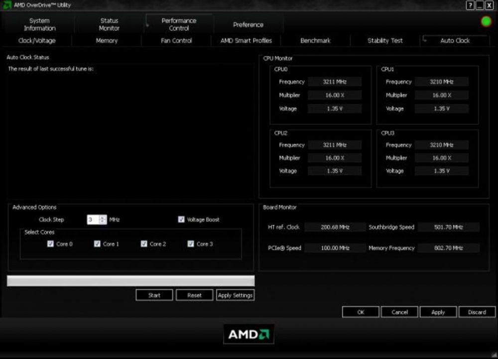 Программа для разгона микропроцессоров AMD OverDrive. Как пользоваться этой утилитой, порядок настройки