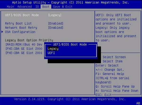 Как сделать флешку UEFI с помощью программы