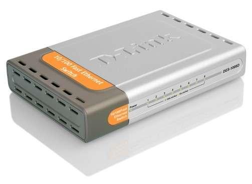 Коммуникатор DES-1008D от компании D-Link. Комплектация, спецификации и порядок настройки